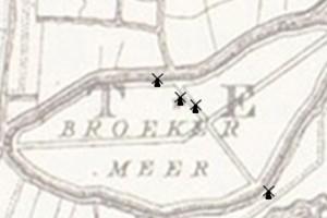 De molens in de gemeente Landsmeer