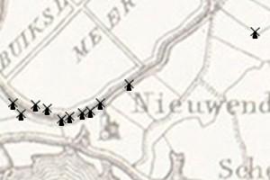 De molens in Nieuwendam