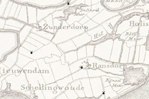 De molens in Ransdorp & Zunderdorp