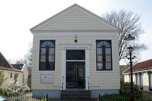 Het huis van de Doopgezinde gemeente.Foto: Ruud Slagboom, 2014