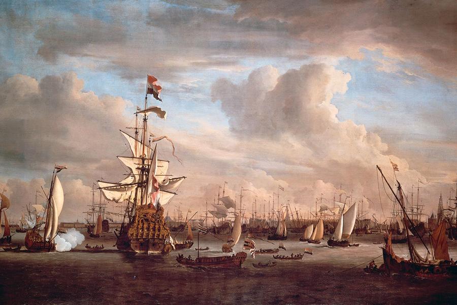 Geschiedenis van noord in het kort geschiedenis van amsterdam noord - Bron schilderijen ...