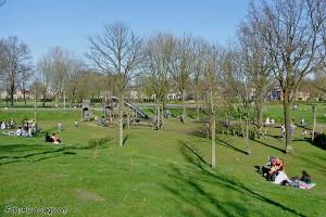 Kinderspeelplaats in het parkFoto: Ruud Slagboom, 2015