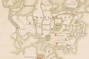 kaart waterland 1288