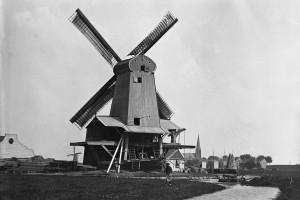 """De molen """"de Eendracht"""" - Fotograaf: Jacob OlieBron: Stadsarchief Amsterdam"""