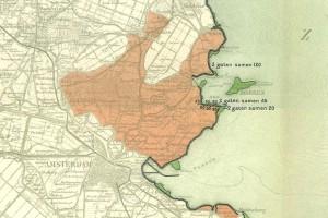 1916 kaart overstroming