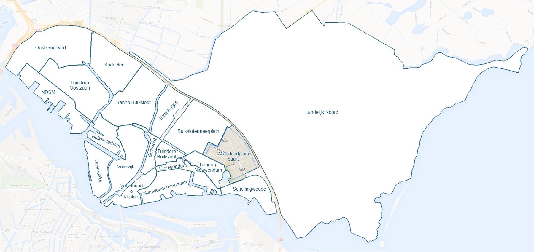 waterlandplein-buurt