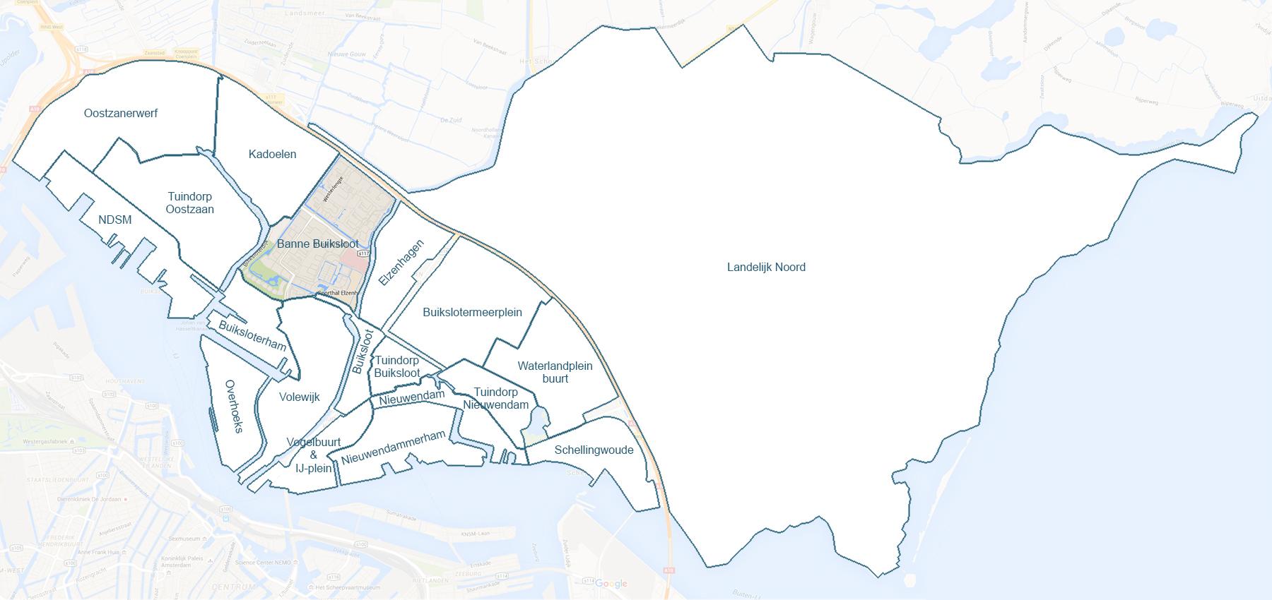 De wijk Banne Buiksloot uitgelicht – Design: Ruud Slagboom