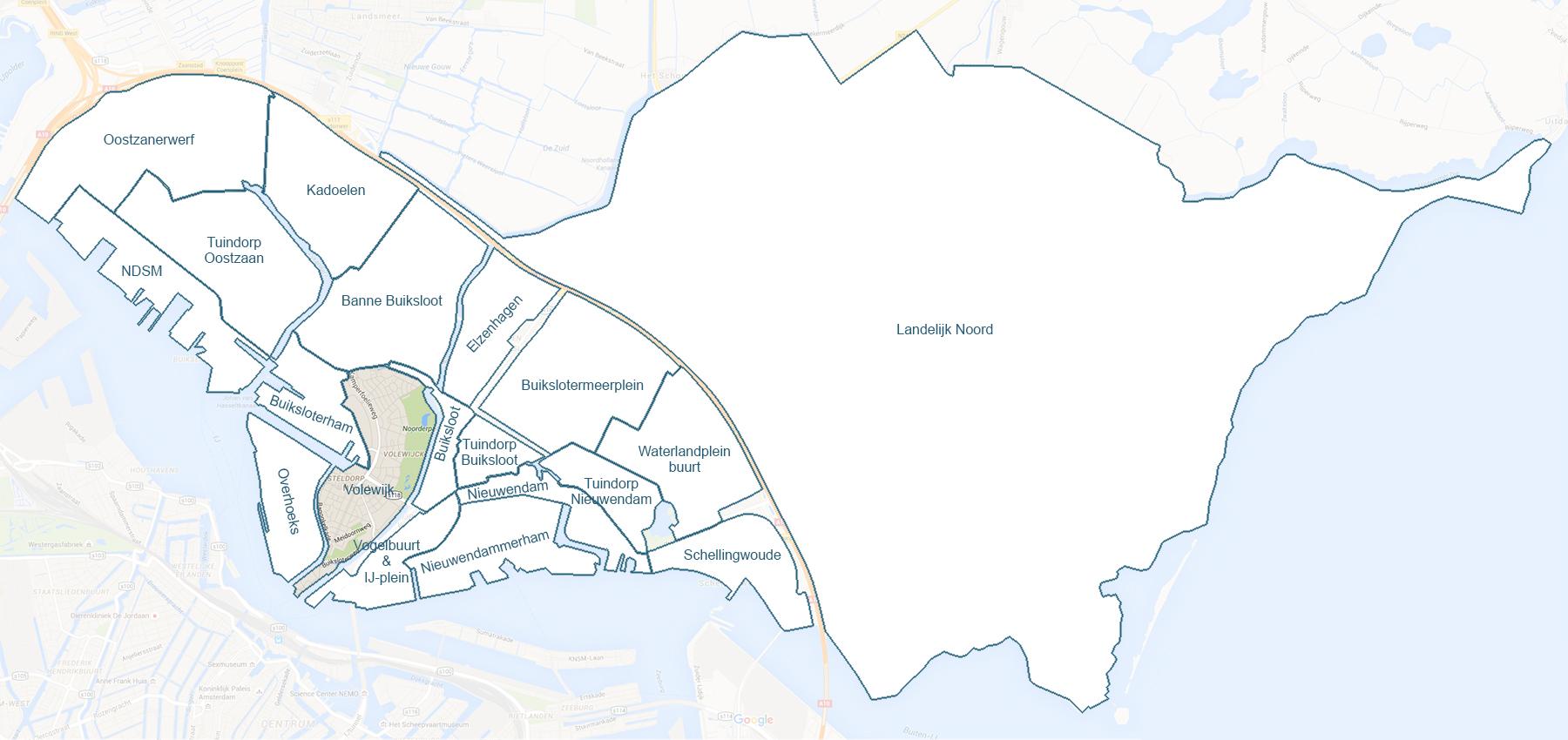 De wijk Volewijck uitgelicht – Design: Ruud Slagboom