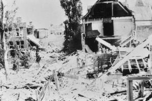 Sint Ritakerk beschadigd