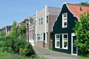Buiksloterdijk nr 138 is nu het laatste huis van wat vroeger het Oosteinde heette.Foto: Ruud Slagboom