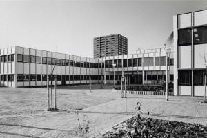 Stadsdeelkantoor waar nu de MediaMarkt staatBron: Beeldbank Amsterdam