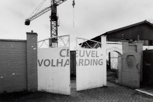 De hoofdingang van de scheepswerf Ceuvel-VolhardingBron: Beeldbank Amsterdam