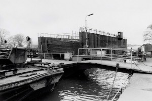 Een droogdok bij de scheepswerf Ceuvel-VolhardingBron: Beeldbank Amsterdam