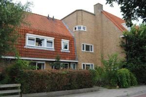 Kamperfoelieweg 65 en 67, onderdeel van het woningenblok van J.C. van Epen. Foto: Albert van der Vliet