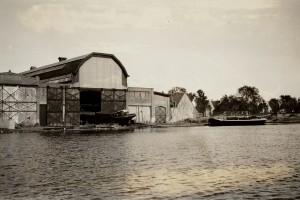 "Scheepsbouwwerf ""Bernard"", 1922Bron: Beeldbank Amsterdam"