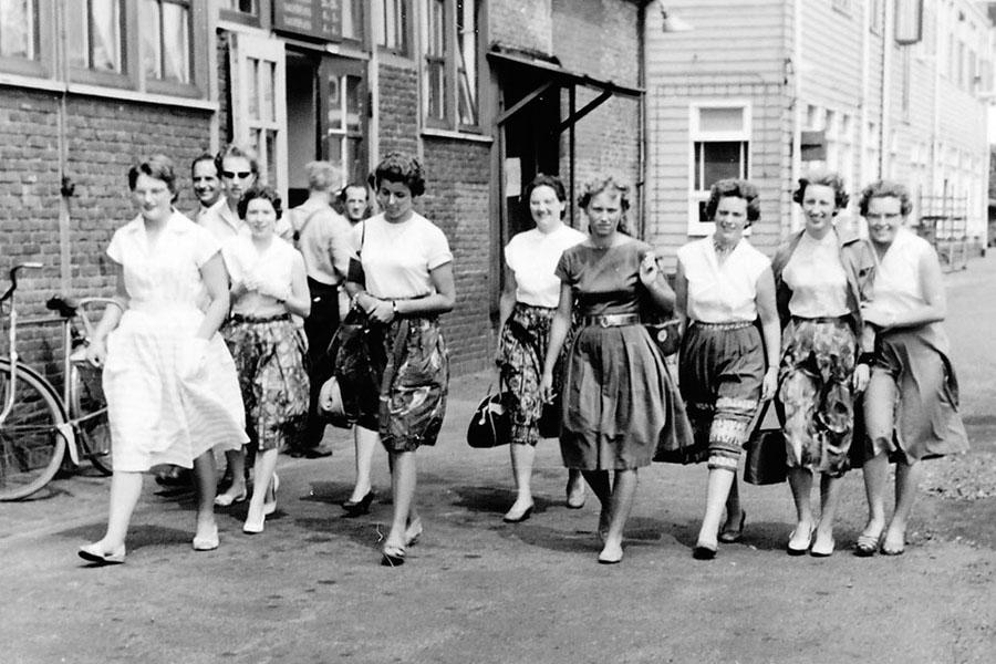 Dames van de boekhouding - Bron: NDSM Werfmuseum