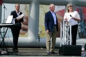 opening podium