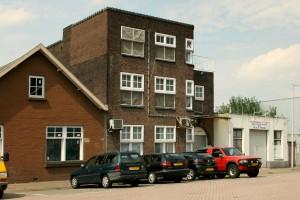 Het pand aan Spijkerkade 5 - Bron; Beeldbank Amsterdam